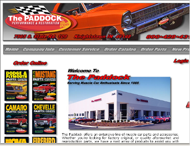 Muscle Car Parts Retailer The Paddock Closes