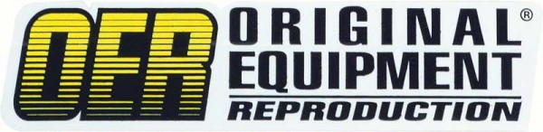 OER Original Equipment Reproduction Parts Logo