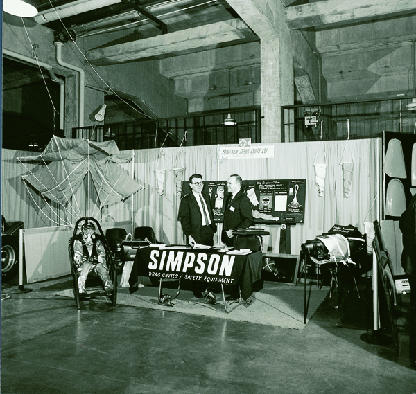 1967 SEMA Show Dodgers Stadium Simpson Safety