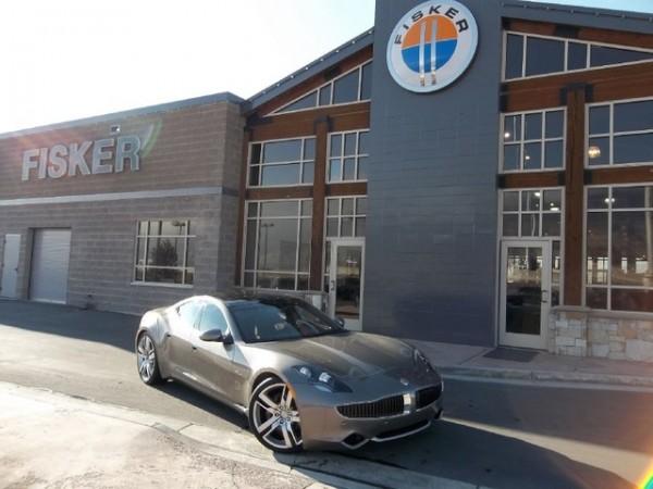 2012 Karma Fisker Eco Sport Static Front