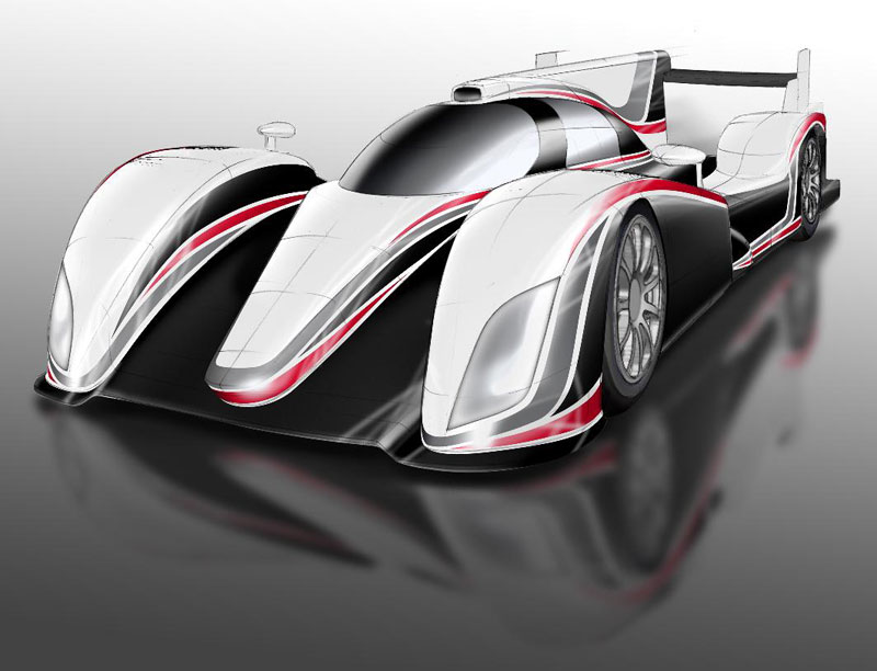 Toyota Plots Return to Le Mans With 2012 LMP1 Hybrid Car