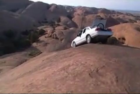 Crown Victoria Tackles Hell S Revenge Trail In Moab