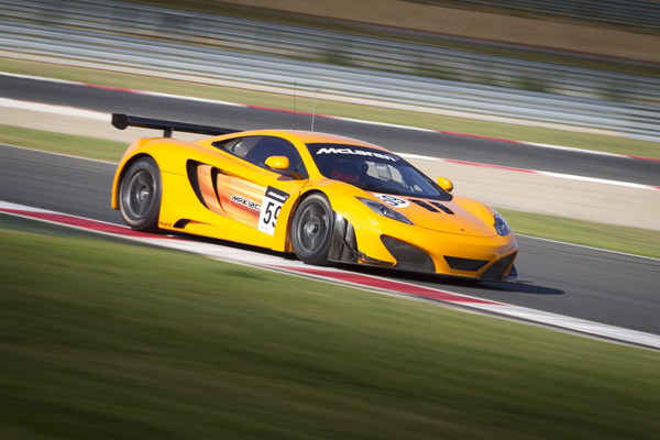 Rob Bell, Alexander Sims and Alvaro Parente to Race McLaren GT for 2012