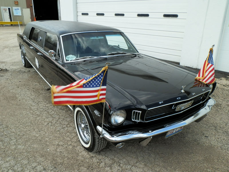 Prom Date 1966 Ford Mustang Limousine
