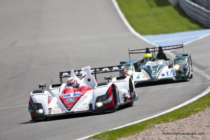 Zytek-Nissan LMP2 Greaves Motosport Donington Park LeMans Series