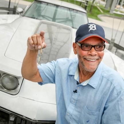 George Talley stolen 1979 Corvette Returned