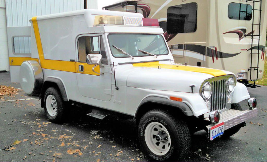 1982 Jeep Scrambler Ambulance