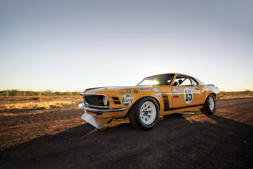 1970 mustang boss 302 trans am racer going to auction